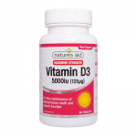 Natures aid Vitamin D3 5000iu (60)